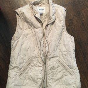 Cream Lightweight Vest
